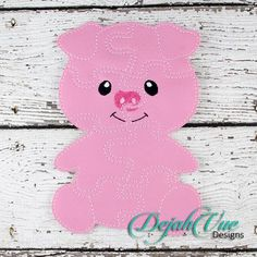 Pig Felt Puzzle and many more items are available for purchase at https://www.etsy.com/shop/SchoolhouseBoutique