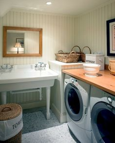 Laundry Room | Patrick Ahern Architect