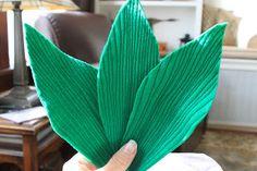 Blog do passo a passo: espiga de milho verde feltro passo a passo pap molde