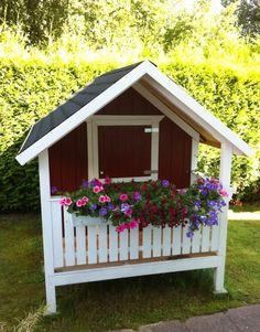 DIY-Projekt: Garten-Spielhaus für Kinder selber bauen | Mama-Mony.de