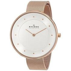 Shop for Skagen Women's SKW2142 Gitte Quartz Two-hand Stainless Steel Rose Gold Watch. Get free delivery at Overstock.com - Your Online Watches Shop! Get 5% in rewards with Club O! - 16623001