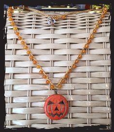 Halloween sieraden  Halloween decoraties-gehaakte door HennyandJune