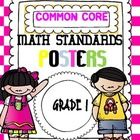 Dear teacher,   I am happy to share my   Common Core Math posters with you. Use to create a standard based environment for your students. Posters com...