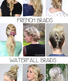 DIY   4 basic braids