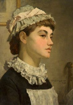 The Maidservant by Wm Arthur Breakspeare - 1881