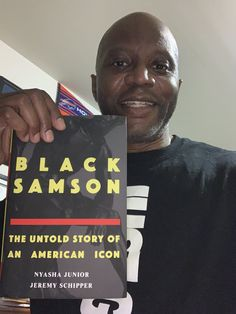 Black Samson: The Untold Story of an American Icon x Nyasha Junior & Jeremy Schipper Shout Out, Work On Yourself, Shit Happens, American, Black, Pastor, Black People