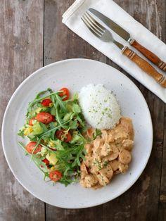 Vekemeny 10/2019 - LINDASTUHAUG A Food, Food And Drink, Frisk, Enchiladas, Quinoa, Risotto, Nom Nom, Meat, Chicken