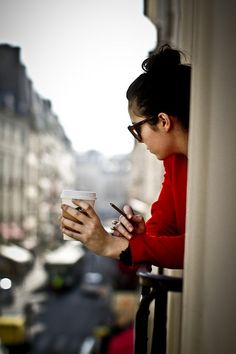 'lady at the cafe   ~~  X ღɱɧღ ♫