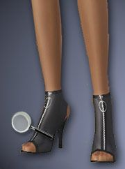 Open Toe Booties @ All About Style