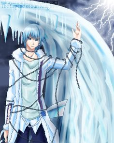 The Ice Knight by sakuyasworld.deviantart.com on @deviantART