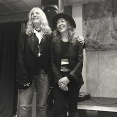 #PattiSmith with #AnnDemeulemeester at Dover Street Market London #style