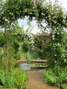 Rousham House Garden, Oxford, England