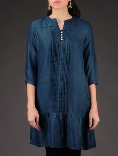Silk tunic by Indian August at Jaypore