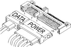 What's the voltages of SATA power cable? SATA