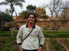 Frédéric Mathieu à la Kasbah Des Oudayas à رباط, Région de Rabat-Salé-Zemmour-Zaër, Maroc (17/03/2006)