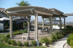 Patio Cover Ideas Product | MULTI LEVEL PATIO COVER. Like the double width beam idea