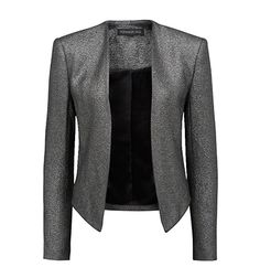 Silver Slim Jacket by Forever New #Reserve on #3otherthings to try and buy it at the #ForeverNew store in #Mumbai