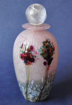 Jonathan Harris Pink Trees Perfume Bottle http://www.bwthornton.co.uk/isle-of-wight-richard-golding-bath-aqua-glass.php