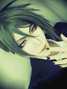 Sebastian Michaelis, {Black Butler, Kuroshitsuji, anime, manga}<---- *heavy breathing*