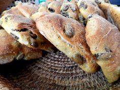 cucina, ricette, pane, olive, pane alle olive, ricette di pane