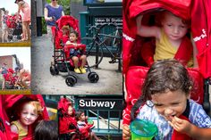 5 great double strollers for city living on Wellroundedny.com // Kinderwagon seen here