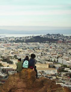 San Francisco from above | gorgeous views of the Bay Area @jansport #ClippedOnIssuu from JanSport Live Outside SF Edition