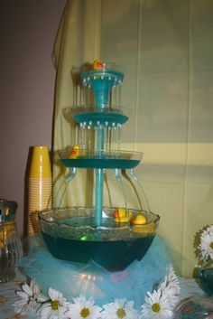 """Photo 10 of 18: Ducks / Baby Shower/Sip & See """"Welcome Baby Dylan"""" 