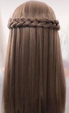 Hairdo For Long Hair, Bun Hairstyles For Long Hair, Pixie Hairstyles, Step By Step Hairstyles, Fast Hairstyles, Hairstyles Videos, Elvish Hairstyles, Office Hairstyles, Anime Hairstyles