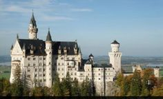 Neuschwanstein Castle, South of Munich, Germany, Business Trip