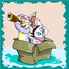 Soggy Old Box by Tattletail on DeviantArt