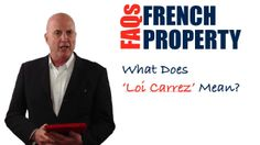 In this video, you are going to discover what 'Loi Carrez' means in a French property advertisement?