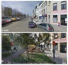 ¿Cómo han cambiado algunas ciudades en 6 años?