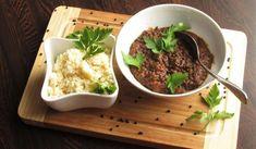Jak uvařit příjemně pikantní kořeněné kari z černé čočky   recept na výborné kari Garam Masala, Mashed Potatoes, Toast, Beef, Ethnic Recipes, Food, Diet, Bulgur, Turmeric