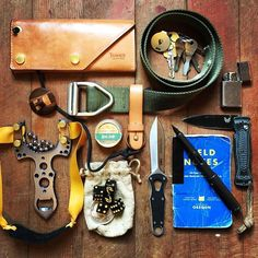 Spotted another every day carry! This time our Last Chance Belt is featured in the mix! Photo credit goes to Jay Barnhouse.