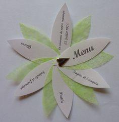 Lot de 130 menus Marques place original avec menu : Cuisine et service de table par delphine-kreations-originales