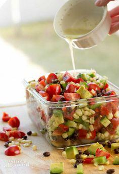 #HealthyRecipe / Fresh Sweet Corn Salsa Recipes
