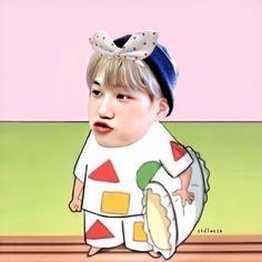 Kaisoo, Chanbaek, Exo Kai, Chanyeol, Exo Fanart, Adventure Time Wallpaper, Perspective Sketch, Cartoon Edits, Exo Memes
