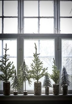 my scandinavian home: 5 beautifully, Minimalist Christmas Trees