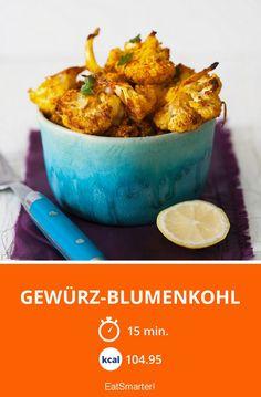 Gewürz-Blumenkohl - smarter - Kalorien: 104.95 kcal - Zeit: 15 Min. | eatsmarter.de