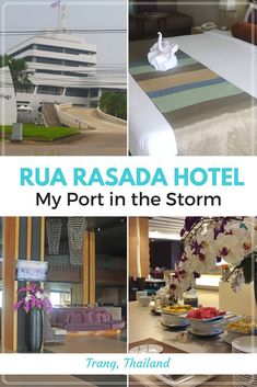 Trang is a gateway to the pristine southwestern islands of Thailand and the Rua Rasada Hotel offers the perfect mid-way coastal rest stop. https://www.theislanddrum.com/rua-rasada-hotel-trang/