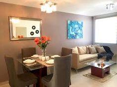 Resultado de imagen para decoracion de salas comedor para casas de infonavit