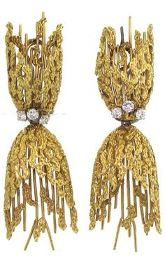 {Daily Jewel} 1960's Modernist Earrings | Haute Tramp