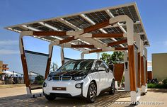 #Parking #solaire : #BMW conjugue design eco-conçu et #mobilite durable | via @Techinnov http://sco.lt/8Hjwob