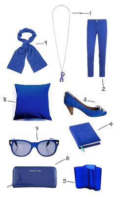 cobalt blue!