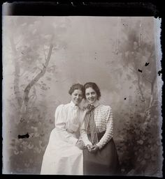 vintage everyday: Rare Female Portraits of Rural America from 1909-1912