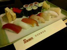Goemon Sushi Moriawase