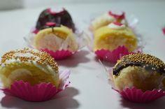Docinhos de bolo de rolo. www.docefulo.com.br