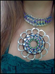 Pop tab necklace and pendant