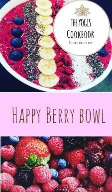 This is a very easy and fast Berry Bowl, perfect for a healthy start in your day. Berries are full of antioxidants (prevent cancer) and give you a lot of energy.