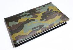 porte-chéquier homme femme camouflage militaire kaki par Kipapee